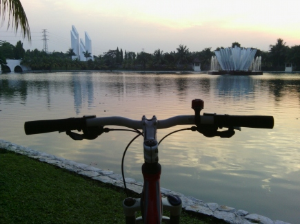 Danau Taman Makam Pahlawan
